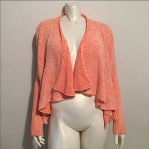 Anthropologie Moth Open Cardigan Size Small